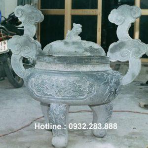 Mẫu Lư Hương Bằng Đá -LH03