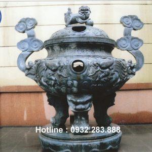 Mẫu Lư Hương Bằng Đá -LH05