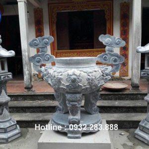 Mẫu Lư Hương Bằng Đá -LH07
