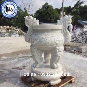 Mẫu Lư Hương Bằng Đá -LH09