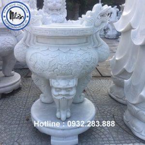 Mẫu Lư Hương Bằng Đá -LH10