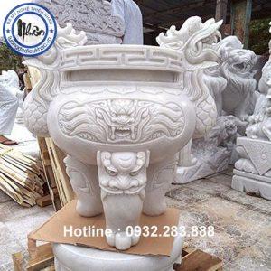 Mẫu Lư Hương Bằng Đá -LH12