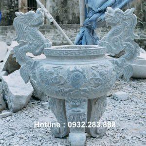 Mẫu Lư Hương Bằng Đá -LH14