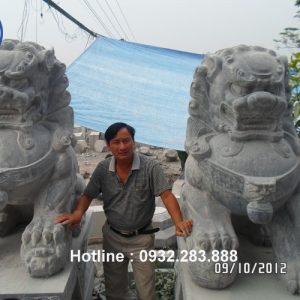 Tượng Kì Lân Bằng Đá -KL02