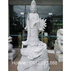 Tượng Phật Bà Quan Âm -QA12