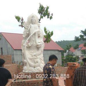 Tượng Phật Bà Quan Âm -QA21