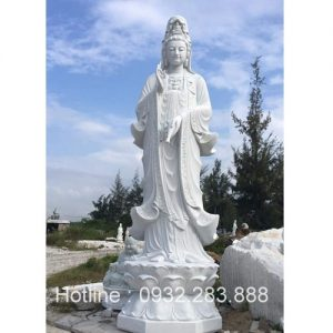 Tượng Phật Bà Quan Âm -QA22