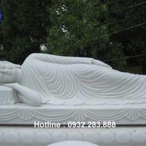 Tượng Phật Nhập Niết Bàn _TNS05