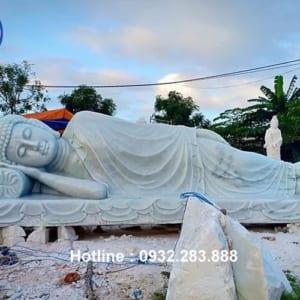 Tượng Phật Nhập Niết Bàn _TNS06
