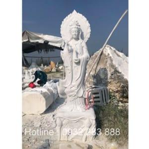 Tượng Phật Bà Quan Âm -QA25