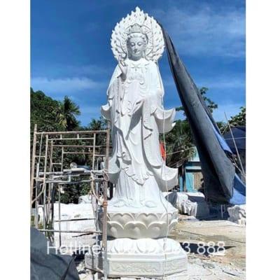 Tượng Phật Bà Quan Âm -QA27