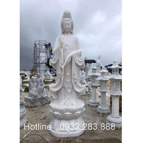 Tượng Phật Bà Quan Âm -QA30