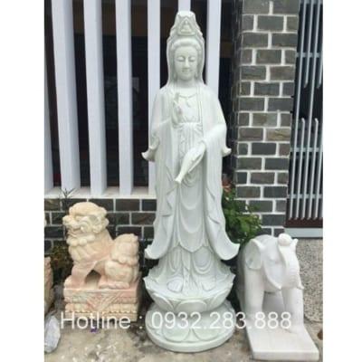Tượng Phật Bà Quan Âm -QA32