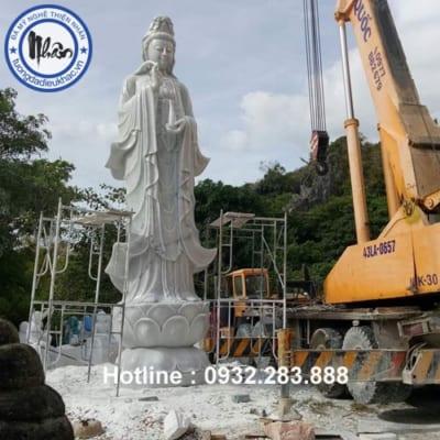 Tượng Phật Bà Quan Âm -QA33